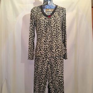 George Intimates & Sleepwear - Silky Knit Pajamas/Lounge Set